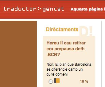 La Traduccio Automatica De La Generalitat De Catalunya Incorpora L