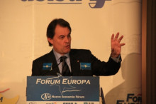 artur mas, madrid, forum europa